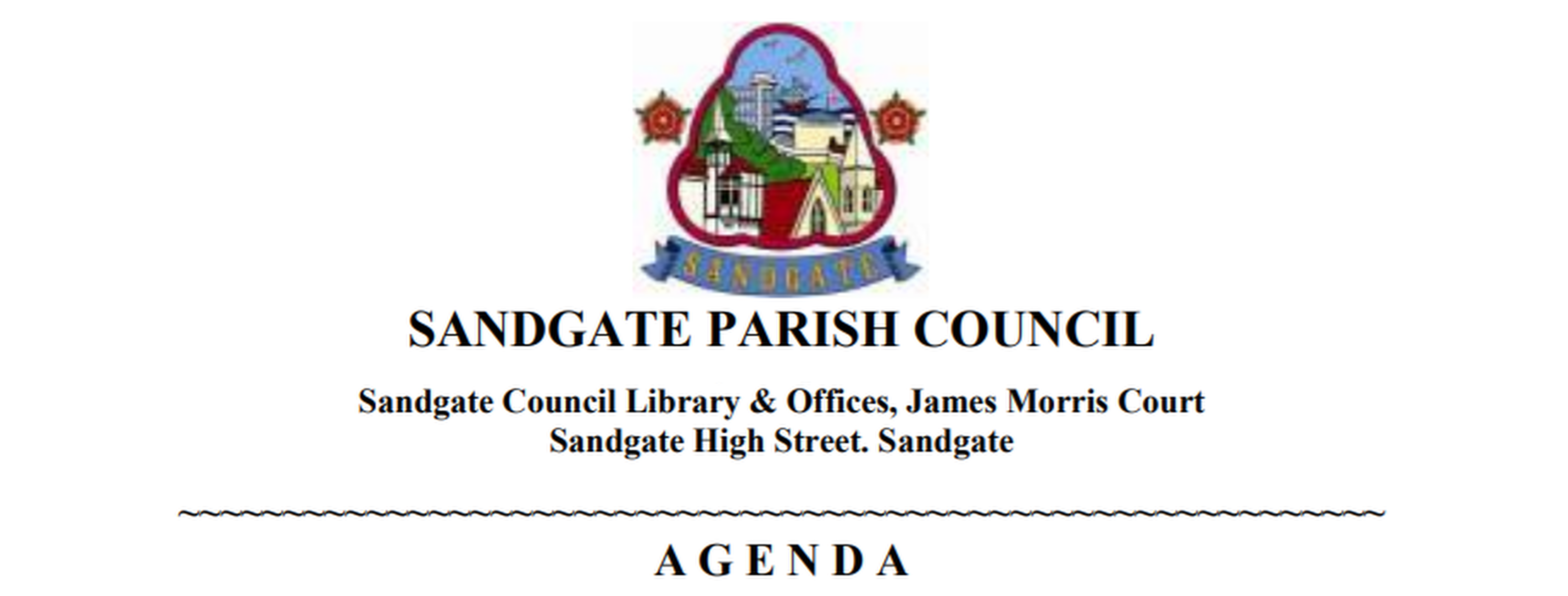 Sandgate Parish Council Agenda Coversheet