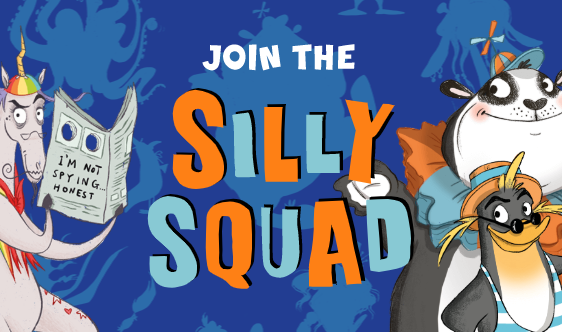 Silly Squad website screenshot