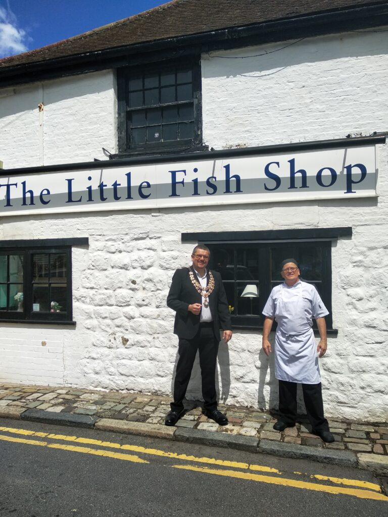 The Little Fish Shop, Sandgate