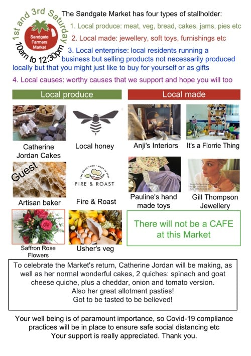 Sandgate Parish Council Email Newsletter: Markets, Libraries, and Tours!