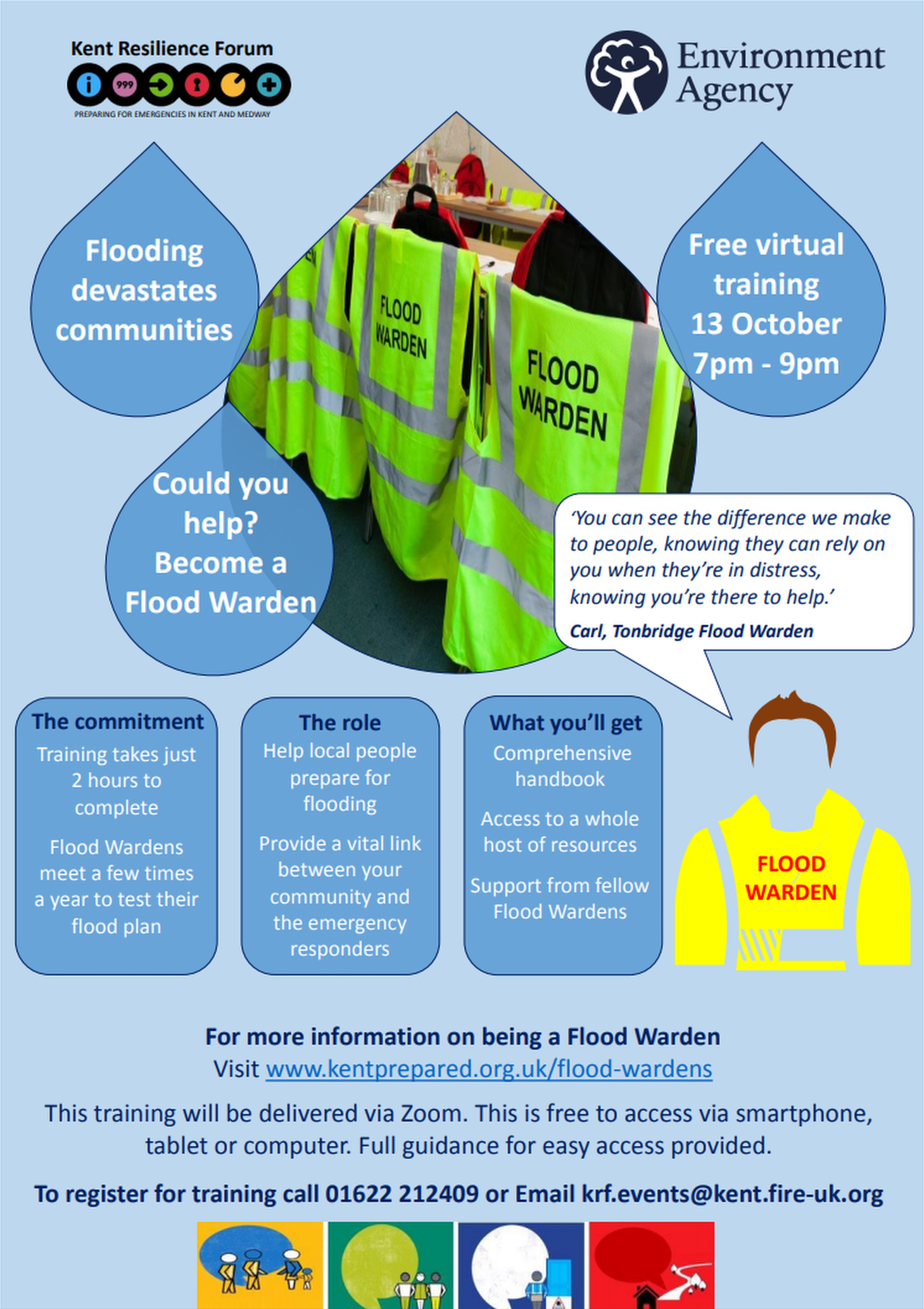 Could You Help Sandgate as a Volunteer Flood Warden?