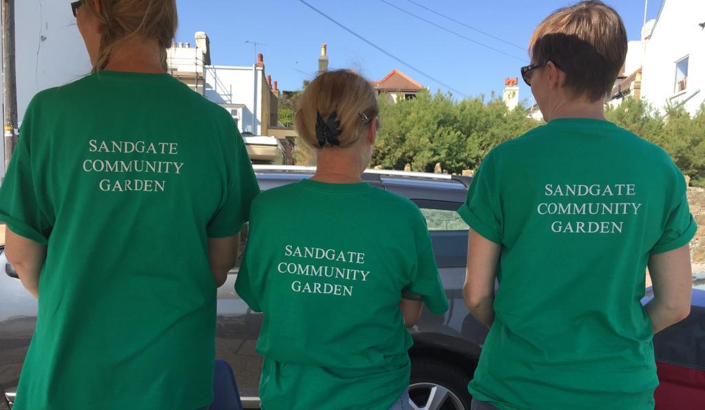 Sandgate Community Garden t-shirts